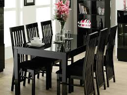 Black Dining Room Hutch by Black Dining Room Chairs And White Chair Cushions Table Covers Set