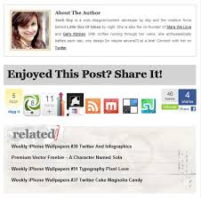Footer Design Ideas 30 Well Executed Blog Post Footer Designs Bluefaqs