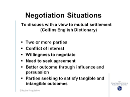 Seeking Negotiation Effective Negotiation Ppt