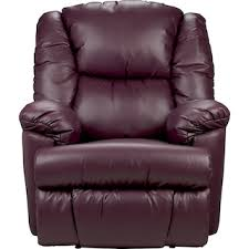 bmaxx bonded leather power reclining chair u2013 purple the brick