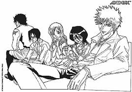 bleach season 2 coloring pages