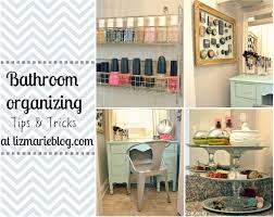 organizing ideas for bathrooms bathroom organizing makeover ideas our home home