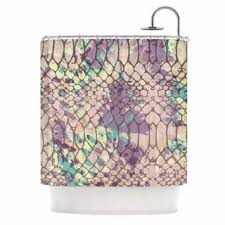 tribeka cotton lavender shower curtain free shipping on orders