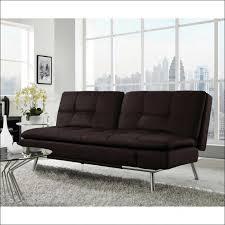 faux leather futon mattress contemporary styled futon sleeper sofa