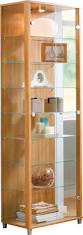 glass display cabinet 4tier glass display cabinet tower shelf