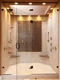 Modern Bathroom Shower Bathroom Design Modern Bathroom With Double Shower And Adjustable