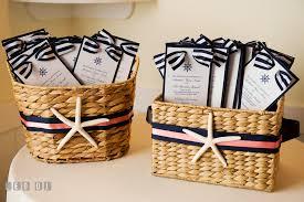 basket for wedding programs chesapeake bay club wedding shannon brendan