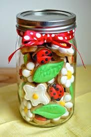 ladybug cookies much kneaded mini ladybug cookies in a jar