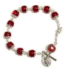 rosary bracelet cat s eye rosary bracelet immaculate center