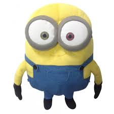 minions pillow with lights and sound bob 35cm at