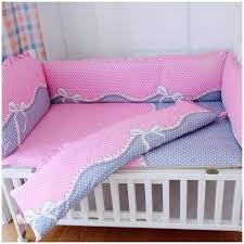 Nursery Cot Bedding Sets Promotion 6pcs Baby Cot Bedding Set 100 Cotton Crib Baby Cot