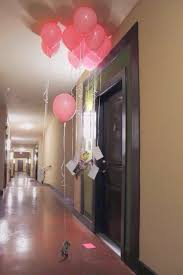sweet surprise photos tied to balloons at your darling u0027s