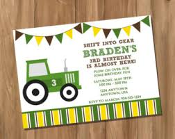 john deere party invitations theruntime com