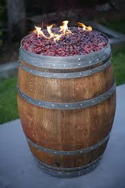 Wine Barrel Fire Pit Table by Metal Barrel Fire Pit Fire Pit Design Ideas