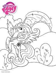 L Gant Licorne Coloriage A Imprimer Avec Coloriage Licorne Princesse