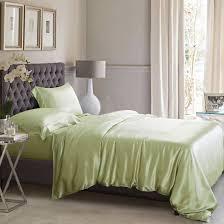 sage green silk bed linen pure 100 mulberry silk
