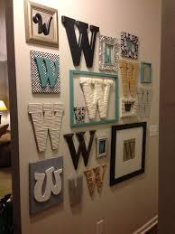 monogram plaques initial letter wall decor plaques monogram diy home