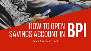 how to open savings account in bpi youtube