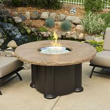 Oriflamme Fire Tables Round Gas Fire Pit Table Pits Ideas Perfect Design On Wood Deck
