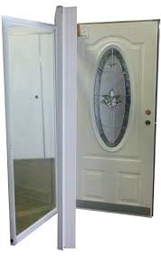 32x76 Exterior Door 32x76 3 4 Oval Glass Door Rh For Mobile Home Manufactured Housing