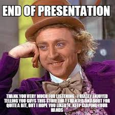 Funny Thank You Meme - meme maker end of presentation thank you very much for listening i