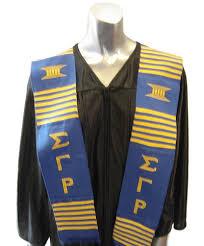kente graduation stoles gamma rho kente graduation stole