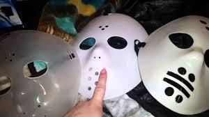 jason mask halloween 3 cheap hockey mask youtube