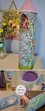 diy princess tower from recycled containers princess tower diy