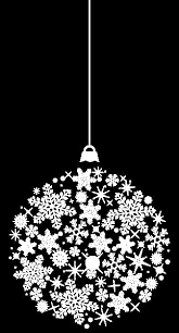 transparent white ornament png clipart новый год