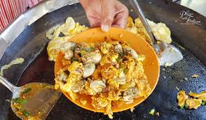 chien cuisine muar oh chien oyster omelette