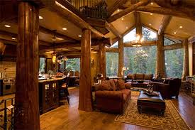 luxury log home interiors log cabins with log post inside house post pictures of your