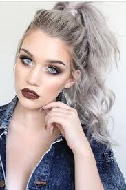 white hair with black lowlights 78 grey hairstyles to try for a hot new look