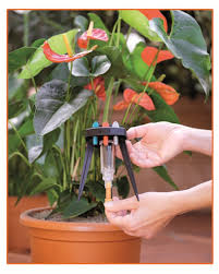 amazon com claber 8057 idris potted plants watering system kit