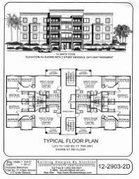 3 Storey Commercial Building Floor Plan Multi Family Home And Building Plans