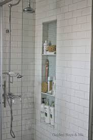 Master Bathroom Shower Tile Ideas by Niche For Shower Showers Decoration