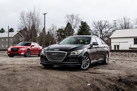chrysler bentley 2015 chrysler 300 vs 2015 hyundai genesis comparison