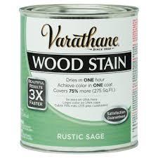 varathane 1 qt 3x rustic sage premium wood stain case of 2