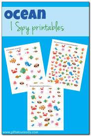 ocean i spy printables i spy printables and spy