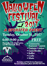 2017 halloween festival city of norwalk ca