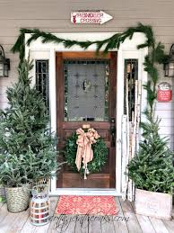 christmas porch decorations cottage christmas front porch ideas cottage in the oaks