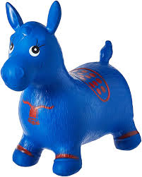 Small Space Hopper - amazon com blue horse hopper pump included inflatable space