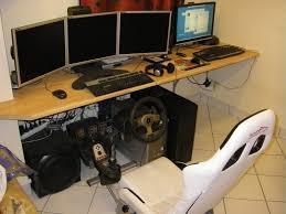 bureau pc gamer bureau gamer meuble le des geeks et des gamers
