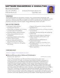 Sample Resume For 2 Years Experience In Mainframe by Resume Format For Software Developer Sample Resumes