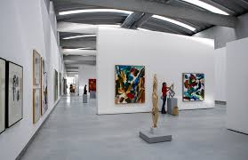 Home Art Gallery Design Best Liaunig Museum Interior Exhibition Your Home Design Shared