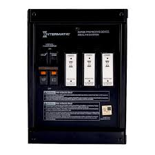 intermatic smart guard whole home surge protector metal mounting