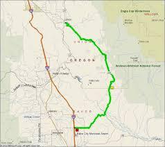 map of highway 395 oregon oregon route 203 springs highway motorcycle roads
