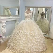 butterfly wedding dresses ball gowns lace cap sleeves u2013 alinanova