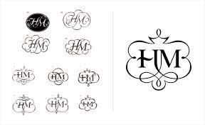 hm design designing a monogram ulga