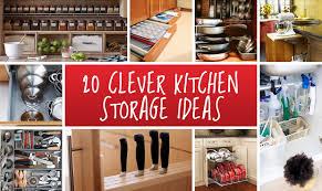 Storage Ideas For Kitchens Storage Ideas For The Kitchen Gorgeous Insanely Smart Diy Kitchen