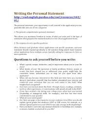 best solutions of sample personal statement for resume with cover